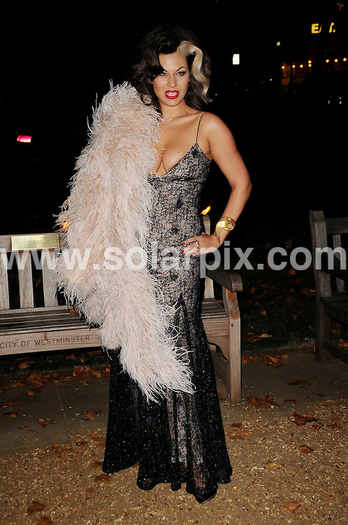**ALL ROUND PICTURES FROM SOLARPIX.COM**.**WORLDWIDE SYNDICATION RIGHTS**.Guests arrive for the End Of Summer Ball, held at Berkeley Square, London, UK. 25th September 2008..This pic: Immodesty Blaize..JOB REF: 7459 MSR    DATE: 25_09_2008.**MUST CREDIT SOLARPIX.COM OR DOUBLE FEE WILL BE CHARGED* *UNDER NO CIRCUMSTANCES IS THIS IMAGE TO BE REPRODUCED FOR ANY ONLINE EDITION WITHOUT PRIOR PERMISSION*