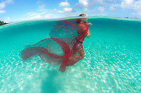 Reese Brosnan underwater<br />