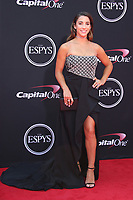 LOS ANGELES, CA - JULY 12: Aly Raisman at The 25th ESPYS at the Microsoft Theatre in Los Angeles, California on July 12, 2017. Credit: Faye Sadou/MediaPunch