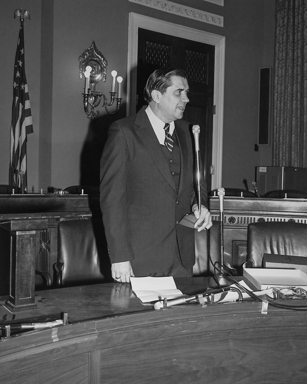 Congressional aide Hyde Murray at Rayburn House Office Building. (Photo by CQ Roll Call via Getty Images)