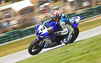 Dane Wetsby in action at the AMA Superbike Showdown at Road ATlanta, Braselton, GA, April 2010.  (Photo by Brian Cleary/www.bcpix.com)