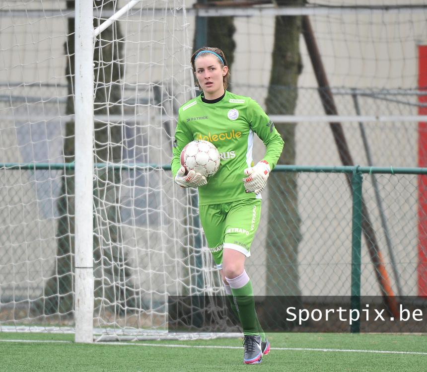 Dames Zulte-Waregem - SC Heerenveen : Celine Finet.foto DAVID CATRY / Nikonpro.be