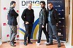 "Manuel Rios San Martin, Javier Quintas and Juanma R. Pachon   attends to the photocall of the presentation of conferences ""Series juveniles que marcaron una generacion"" by Dirige Association in Madrid, Spain. March 27, 2017. (ALTERPHOTOS/BorjaB.Hojas)"