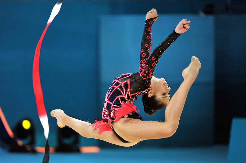 August 30, 2013 - Kiev, Ukraine - REBECCA SEREDA of USA performs at 2013 World Championships.