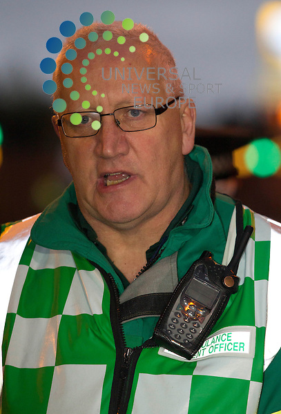 Gary Hardacre, Scottish Ambulance Service: Eight people are now confirmed to have died after a police helicopter crashed into a busy pub in Glasgow city centre.<br />