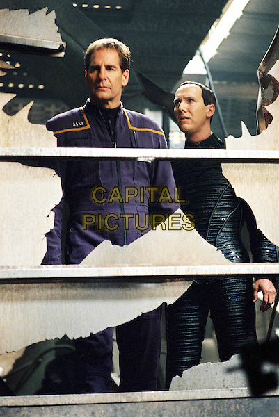 "SCOTT BAKULA & MATT WINSTON.in Star Trek: Enterprise.""Shockwave"" .Ref: FBAW.*Editorial Use Only*.www.capitalpictures.com.sales@capitalpictures.com.Supplied by Capital Pictures."