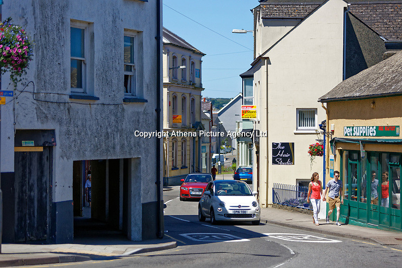 West Street, Fishguard, Pembrokeshire, Wales, UK