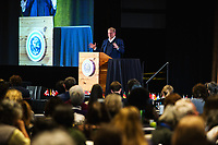 Former Vice President Al Gore speaks during the Climate Reality Project Leadership Corps Training at the Convention Center in Denver, Colorado, Saturday, March 4, 2017.<br /> <br /> Photo by Matt Nager