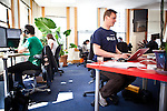Academia.edu founder and CEO Richard Price works in their San Francisco offices, April 18, 2012.
