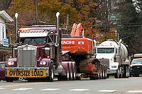 Water Trucks, Bradford County, Marcellus Shale, Pennsylvania.