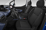 Front seat view of 2019 Peugeot Rifter Allure Door Mini Mpv Front Seat  car photos