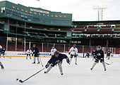 Matias Cleland (UNH - 2) - The University of New Hampshire Wildcats practiced at Fenway on Friday, January 13, 2017, in Boston, Massachusetts.
