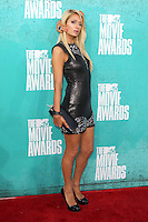 Paris Hilton at the 2012 MTV Movie Awards held at Gibson Amphitheatre on June 3, 2012 in Universal City, California. ©mpi29/MediaPunch Inc.