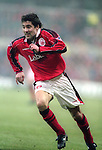 Dean Saunders of Nottingham Forest  - Premier League - Nottingham Forest v Chelsea - City Ground - Nottingham - England - 11th January 1997 - Picture Simon Bellis/Sportimage