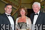 l-r: Michael Carmody (president)  Eileen and Paul O'Dea    all sat nite ball itt   Copyright Kerry's Eye 2008