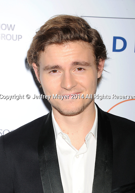 SANTA MONICA, CA- OCTOBER 26: Actor Callan McAuliffe attends the 3rd Annual Australians in Film Awards Benefit Gala at the Fairmont Miramar Hotel on October 26, 2014 in Santa Monica, California.