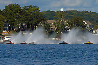 "`h12, H-8 ""Last Minute Again"", Bobby King, H-242, Marc Lecompte, H-104, Patrick Haworth, H-79 ""Bad Influence""    (H350 Hydro) (5 Litre class hydroplane(s)"