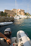 Yacht Harbor, Calvi, West Coast Corsica, Corsica, France, towns in Corsica, French coastal villages, Corsican coast,