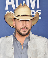 LAS VEGAS, CA - APRIL 07: Jason Aldean attends the 54th Academy Of Country Music Awards at MGM Grand Hotel &amp; Casino on April 07, 2019 in Las Vegas, Nevada.<br /> CAP/ROT/TM<br /> &copy;TM/ROT/Capital Pictures