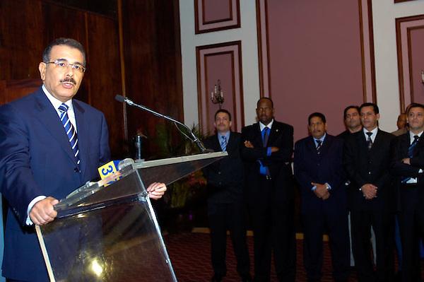 Danilo Medina, dirigente politico del Partido de la Liveracion Dominicana.Lugar:Santo Domingo, RD.Foto:Cesar de la Cruz.Fecha:.