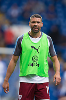 Burnley's Jonathan Walters during the pre-match warm-up <br /> <br /> Photographer Craig Mercer/CameraSport<br /> <br /> The Premier League - Chelsea v Burnley - Saturday August 12th 2017 - Stamford Bridge - London<br /> <br /> World Copyright &copy; 2017 CameraSport. All rights reserved. 43 Linden Ave. Countesthorpe. Leicester. England. LE8 5PG - Tel: +44 (0) 116 277 4147 - admin@camerasport.com - www.camerasport.com