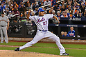 Jeurys Familia (Mets),<br /> OCTOBER 5, 2016 - MLB :<br /> Jeurys Familia of the New York Mets pitches in the ninth inning during the National League Wild Card Game against the San Francisco Giants at Citi Field in Flushing, New York, United States. (Photo by Hiroaki Yamaguchi/AFLO)