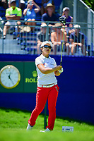 Sei Young Kim (KOR) watches her tee shot on 1 during Sunday's final round of the 2017 KPMG Women's PGA Championship, at Olympia Fields Country Club, Olympia Fields, Illinois. 7/2/2017.<br /> Picture: Golffile | Ken Murray<br /> <br /> <br /> All photo usage must carry mandatory copyright credit (&copy; Golffile | Ken Murray)