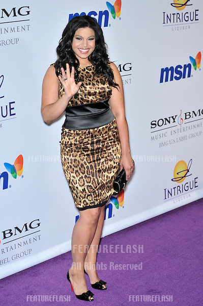 American Idol winner Jordin Sparks at music mogul Clive Davis' annual pre-Grammy party at the Beverly Hilton Hotel..February 9, 2008  Los Angeles, CA.Picture: Paul Smith / Featureflash