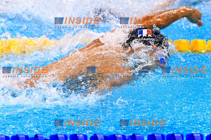 MANAUDOU Florent FRANCE Men's 4x100 Freestyle Relay Silver Medal <br /> Rio de Janeiro 07-08-2016 Olympic Aquatics Stadium <br /> Swimming Nuoto <br /> Foto Andrea Staccioli/Deepbluemedia/Insidefoto