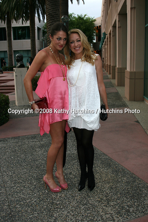 "Roxanne Olin & Patricia Wettig.An Evening with ""Brothers & Sisters"".Academy of Television Arts & Sciences.No. Hollywood,  CA.April 28, 2008.©2008 Kathy Hutchins / Hutchins Photo"