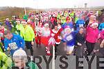 The start of the Santa 5k fun run at Tralee Bay Wetlands on Sunday.
