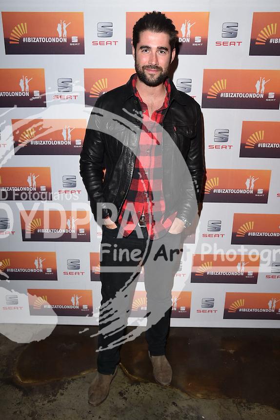 Matt Johnson<br /> attends the SEAT Ibiza launch party at Carousel, London<br /> <br /> &copy;Ash Knotek  D3019  29/09/2015