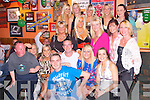 BIRTHDAY: Kay Rahilly, Tralee (seated 2nd from right), celebrated her 30th birthday with her family and friends at The Huddle Bar, Strand St, Tralee, on Sunday night last..