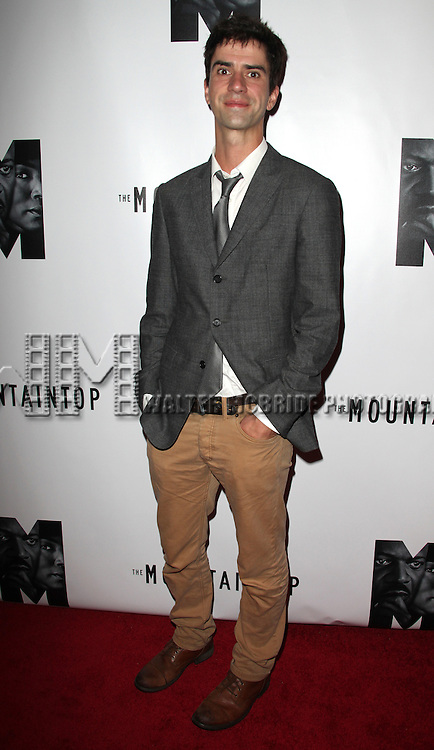 Hamish Linklater.attending the Opening Night Performance After Party for 'The Mountaintop' at eSpace in New York City.