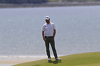 Cormac Sharvin (IRL) on the 6th green during Thursday's Round 1 of the Dubai Duty Free Irish Open 2019, held at Lahinch Golf Club, Lahinch, Ireland. 4th July 2019.<br /> Picture: Eoin Clarke | Golffile<br /> <br /> <br /> All photos usage must carry mandatory copyright credit (© Golffile | Eoin Clarke)