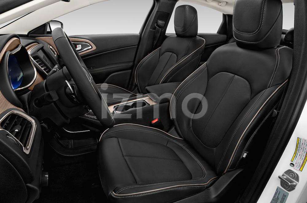 Front seat view of2015 Chrysler 200 C 4 Door Sedan Front Seat car photos