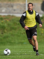 Manny Muscat during the Wellington Phoenix A-League football training session Training Session at Newtown Park, Wellington, New Zealand on Monday, 4 May 2009. Photo: Dave Lintott / lintottphoto.co.nz