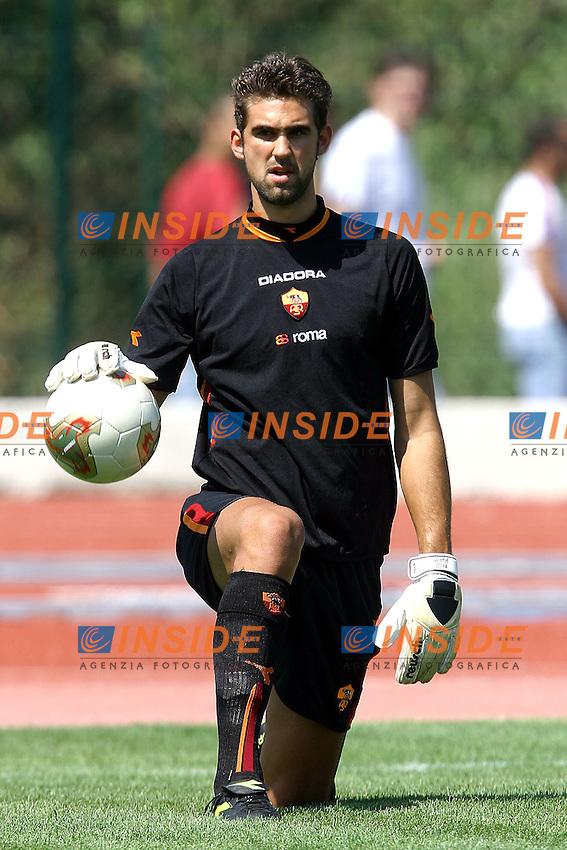 Tivoli 22/8/2003<br /> Tivoli Roma 0-2<br /> Ivan Pelizzoli (AS Roma)<br /> <br /> Foto Andrea Staccioli Insidefoto