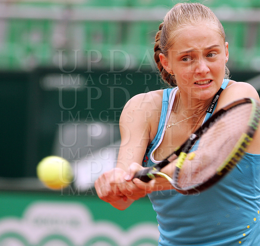 Internazionali d'Italia di tennis a Roma, 16 maggio 2008. Torneo femminile..Italy's Masters tennis women's tournament in Rome, 16 may 2008..Russia's Anna Chakvetadze..UPDATE IMAGES PRESS/Riccardo De Luca
