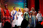 Tituss Burgess, Sean Palmer, Sierra Boggess, Sherie Rene Scott  &amp; Norm Lewis<br /> during the Opening Night Performance Curtain Call of &quot;The Little Mermaid&quot; at the Lunt-Fontaine Theatre in New York City.<br /> January 10, 2008