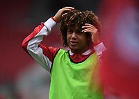 15th July 2020; Ashton Gate Stadium, Bristol, England; English Football League Championship Football, Bristol City versus Stoke City; Han-Noah Massengo of Bristol City reacts to a missed chance by his team