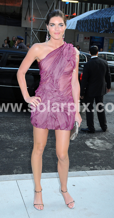 **ALL ROUND PICTURES FROM SOLARPIX.COM**.**SYNDICATION RIGHTS FOR UK, AUSTRALIA, DENMARK, PORTUGAL, S. AFRICA, SPAIN & DUBAI (U.A.E) ONLY**.arrivals at the 2009 CFDA Fashion Awards, Alice Tully Hall, Lincoln Center, New York City, NY, USA. 15 June 2009.This pic: Hilary Rhoda..JOB REF: 9260 PHZ (Wild1)  DATE: 15_06_2009.**MUST CREDIT SOLARPIX.COM OR DOUBLE FEE WILL BE CHARGED**.**ONLINE USAGE FEE GBP 50.00 PER PICTURE - NOTIFICATION OF USAGE TO PHOTO @ SOLARPIX.COM**.**CALL SOLARPIX : +34 952 811 768 or LOW RATE FROM UK 0844 617 7637**