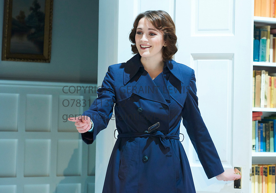 The Philanthropist by Christopher Hampton, directed by Simon Callow. With Charlotte Ritchie as Celia. Opens at The Trafalgar Studios Theatre on 14/3/18