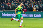 10.02.2019, Weser Stadion, Bremen, GER, 1.FBL, Werder Bremen vs FC Augsburg, <br /> <br /> DFL REGULATIONS PROHIBIT ANY USE OF PHOTOGRAPHS AS IMAGE SEQUENCES AND/OR QUASI-VIDEO.<br /> <br />  im Bild<br /> <br /> Claudio Pizarro (Werder Bremen #04)<br /> Einzelaktion, Ganzkörper / Ganzkoerper<br /> <br /> Foto © nordphoto / Kokenge