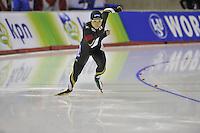 SPEEDSKATING: CALGARY: 15-11-2015, Olympic Oval, ISU World Cup, 500m, Nao Kodaira (JPN), ©foto Martin de Jong