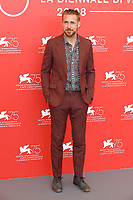 VENICE, ITALY - AUGUST 29: Canadian actor Ryan Gosling attends the photocall for First Man during the 75th Venice Film Festival at Sala Grande on August 29, 2018 in Venice, Italy.<br /> CAP/BEL<br /> &copy;BEL/Capital Pictures