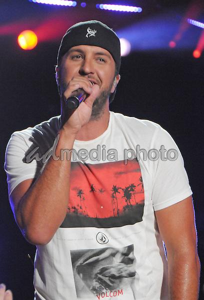 12 June 2016 - Nashville, Tennessee - Luke Bryan. 2016 CMA Music Festival Nightly Concert held at Nissan Stadium. Photo Credit: Dara-Michelle Farr/AdMedia