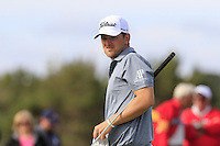 Bernd Wiesberger (AUT) on the 14th green during Thursday's Round 1 of the 145th Open Championship held at Royal Troon Golf Club, Troon, Ayreshire, Scotland. 14th July 2016.<br /> Picture: Eoin Clarke | Golffile<br /> <br /> <br /> All photos usage must carry mandatory copyright credit (&copy; Golffile | Eoin Clarke)