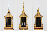Dusit Maha Prasat Hall windows, Bangkok, Thailand RESERVED USE - NOT FOR DOWNLOAD -  FOR USE CONTACT TIM GRAHAM