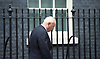 Downing Street after meetings at The House of Commons to appoint new government ministers<br /> 11th May 2015 <br /> <br /> new cabinet ministers arriving or leaving 10 Downing Street <br /> <br /> Iain Duncan Smith <br /> <br /> <br /> Photograph by Elliott Franks <br /> Image licensed to Elliott Franks Photography Services